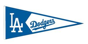 Winning Streak Los Angeles Dodgers Classic Pennant