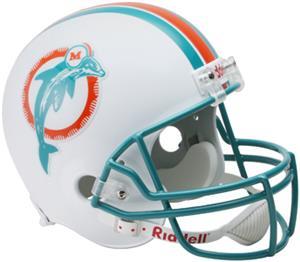NFL Dolphins (80-96) Replica Full Size Helmet (TB)