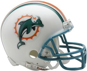 NFL Miami Dolphins Mini Helmet (Replica)