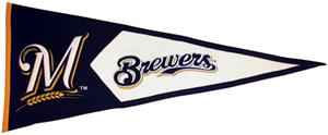 Winning Streak Milwaukee Brewers Classic Pennant