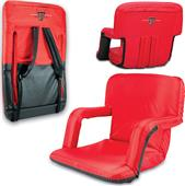 Picnic Time Texas Tech Ventura Recliner