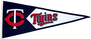 Winning Streak MLB Minnesota Twins Classic Pennant