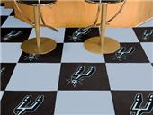 Fan Mats NBA San Antonio Spurs Carpet Tiles