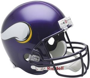 NFL Vikings Deluxe Replica Full Size Helmet
