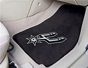 Fan Mats San Antonio Spurs Carpet Car Mats