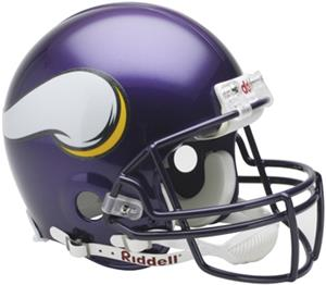 NFL Vikings On-Field Full Size Helmet (VSR4)