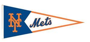 Winning Streak MLB New York Mets Classic Pennant