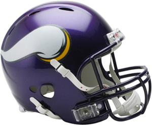 NFL Vikings On-Field Full Size Helmet (Revolution)