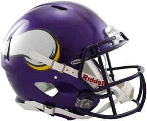 NFL Vikings On-Field Full Size Helmet (Speed)