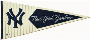Winning Streak New York Yankees Classic Pennant