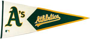 Winning Streak Oakland Athletics Classic Pennant