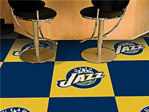 Fan Mats NBA Utah Jazz Carpet Tiles