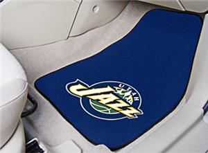 Fan Mats Utah Jazz Carpet Car Mats