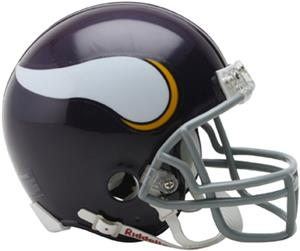 NFL Vikings (61-79) Mini Replica Helmet -Throwback