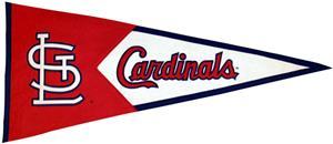 Winning Streak St. Louis Cardinals Classic Pennant