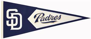 WinningStreak MLB San Diego Padres Classic Pennant