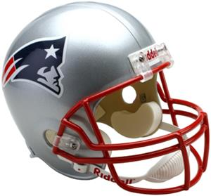 NFL Patriots Deluxe Replica Full Size Helmet