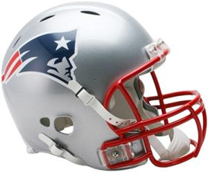 NFL Patriots On-Field Full Size Helmet -Revolution