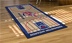 Fan Mats Washington Wizards Large NBA Court Runner