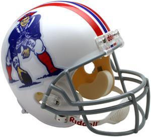 NFL Patriots (65-81) Replica Full Size Helmet (TB)