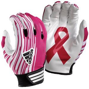 Adidas AdiZero NOCSAE Pink Receiver Football Glove