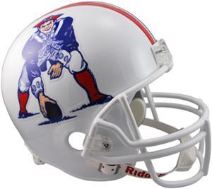 NFL Patriots (82-89) Replica Full Size Helmet (TB)