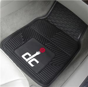 Fan Mats Washington Wizards Vinyl Car Mats