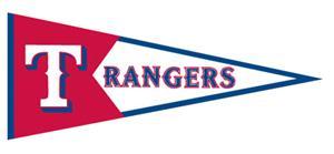 Winning Streak MLB Texas Rangers Classic Pennant