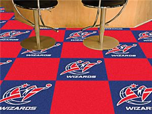 Fan Mats NBA Washington Wizards Carpet Tiles