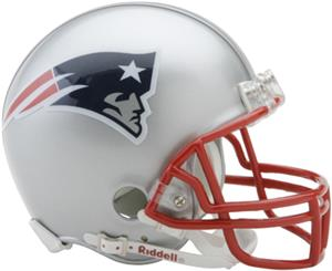 NFL New England Patriots Mini Helmet (Replica)