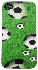 Soccer Ball on Grass iPhone Case