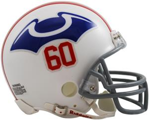 NFL Patriots (1960) Mini Replica Helmet -Throwback