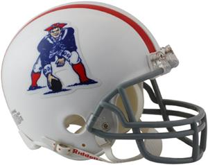 NFL Patriots (61-64) Mini Replica Helmet Throwback