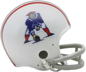 NFL Patriots (65-81) Mini Replica Helmet Throwback