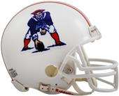 NFL Patriots (82-89) Mini Replica Helmet Throwback