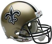 NFL Saints On-Field Full Size Helmet (VSR4)