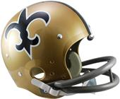NFL Saints (67-75) TK Suspension Helmet