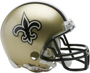 NFL New Orleans Saints Mini Helmet (Replica)