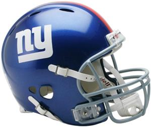 NFL Giants On-Field Full Size Helmet -Revolution