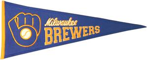 Winning Streak Brewers MLB Cooperstown Pennant