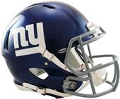 NFL Giants On-Field Full Size Helmet (Speed)