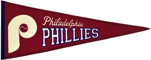 Winning Streak Phillies MLB Cooperstown Pennant