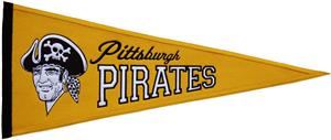 Winning Streak Pirates MLB Cooperstown Pennant