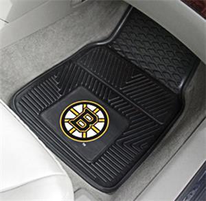 Fan Mats NHL Boston Bruins Vinyl Car Mats (set)