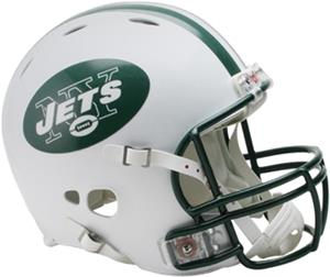 NFL Jets On-Field Full Size Helmet -Revolution