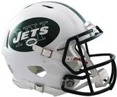 NFL New York Jets On-Field Full Size Helmet -Speed