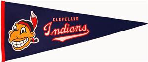 Winning Streak Cleveland Indians MLB Pennant