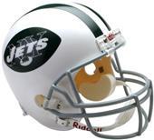 NFL Jets (65-77) Replica Full Size Helmet (TB)