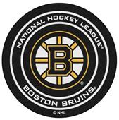 Fan Mats NHL Boston Bruins Puck Mats
