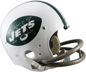 NFL Jets (65-77) Replica TK Suspension Helmet